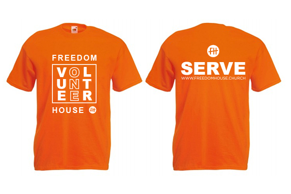 Volunteer Serve T-shirt